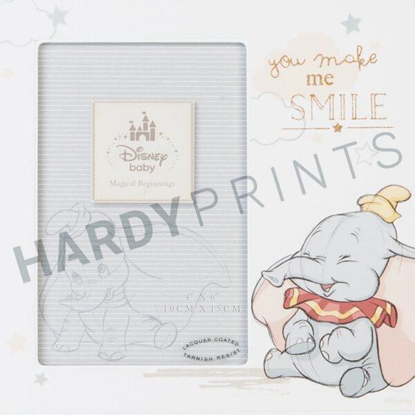 Disney Magical Beginnings Fotokader Dumbo 'you make me smile'