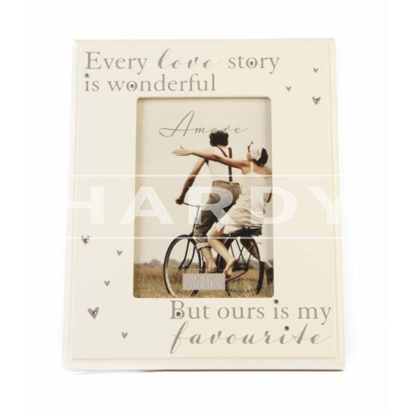 Love story 24 x 19 cm