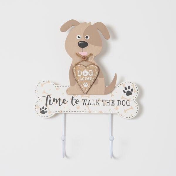Kapstok Time to walk the dog