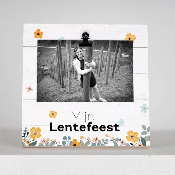 Fotoblok met foto - Mijn Lentefeest - HardyPrints - Zonhoven