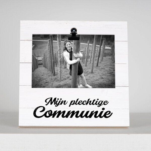 Fotoblok met foto - Mijn plechtige communie - HardyPrints - Zonhoven - Geschenk - cadeau - kader