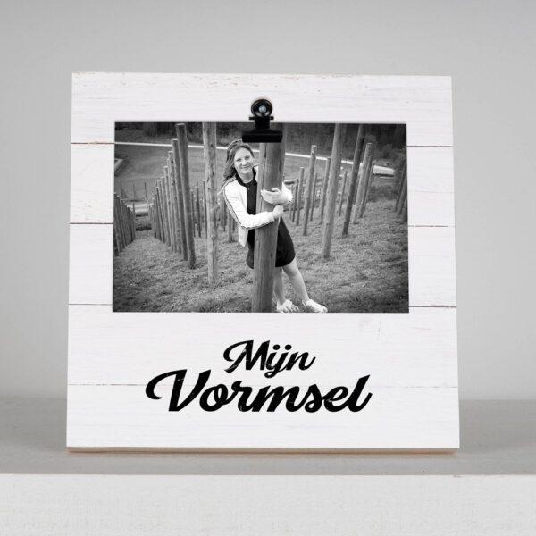 Fotoblok met foto - Mijn vormsel - HardyPrints - Zonhoven - Geschenk - cadeau - kader