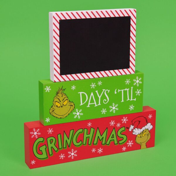 the Grinch - ? days'til Grinchmas - Kerstdecoratie