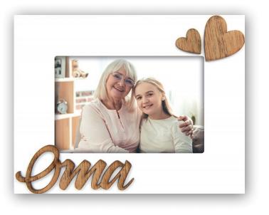 fotokader oma - fotolijst - decoratie - HardyPrints - geschenk - kerstgeschenk