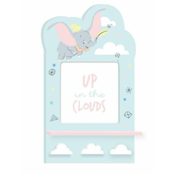 Dumbo kapstok en fotokader - Kinderkamerdecoratie