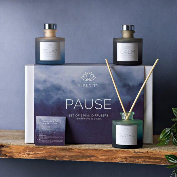 GEURdiffusers - pause - geurparfum in huis