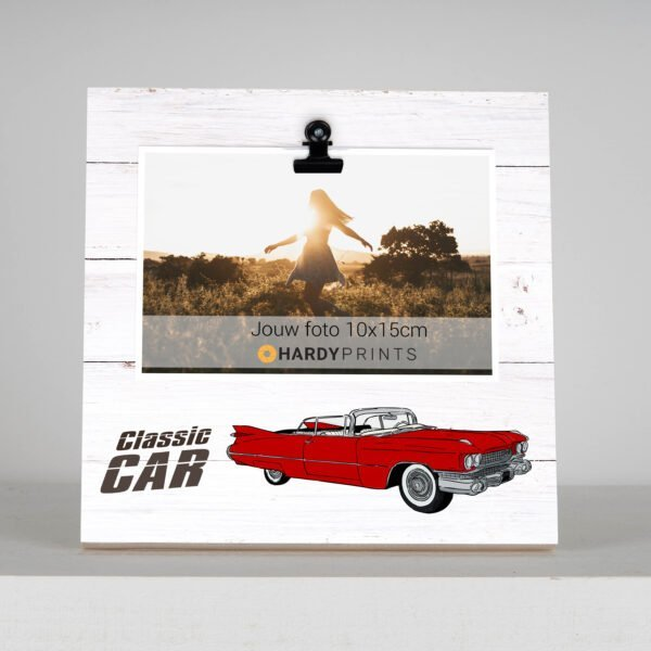 classic car - fotoblok - fotokader - geschenk