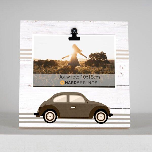 retro wagen - volkswagen - kever - fotoblok - fotokader