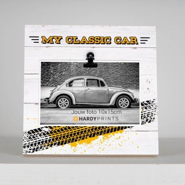 My classic car fotoblok - fotokader- geschenk met foto