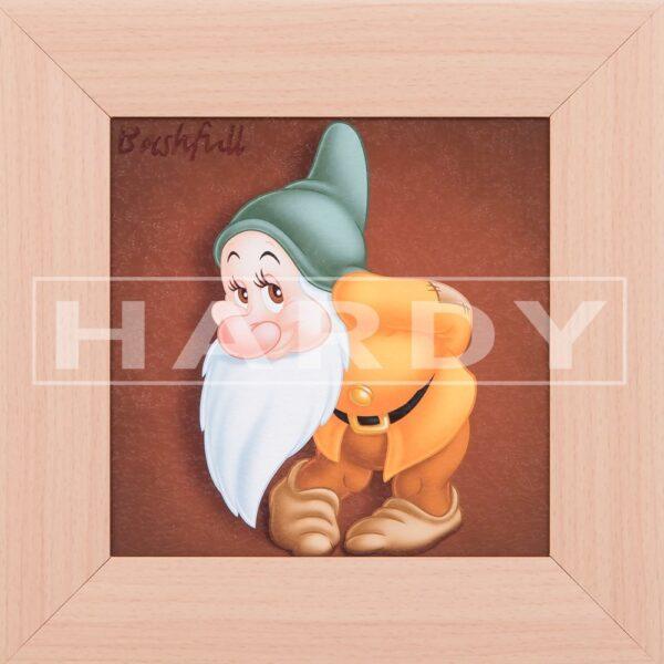 Bashfull - dwerg - Sneeuwwitje en de 7 dwergen - Disney - muurdecoratie