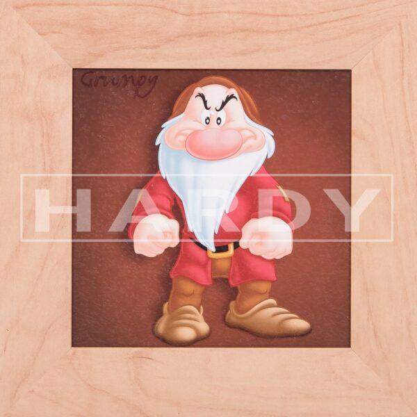 Grumpy - dwerg - Sneeuwwitje en de 7 dwergen - Disney - muurdecoratie